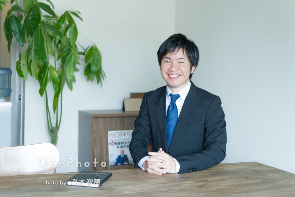 ビジネス用のプロフィール写真