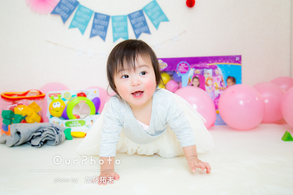 1歳の誕生日