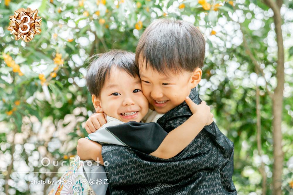 家族写真フォーマル部門受賞作品3位