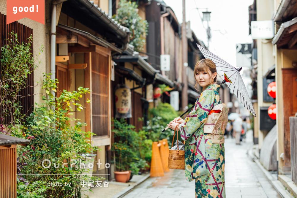フォトギャラリー「はんなり美しい!京都にて着物で和を感じる旅行記念のプロフィール写真」の撮影
