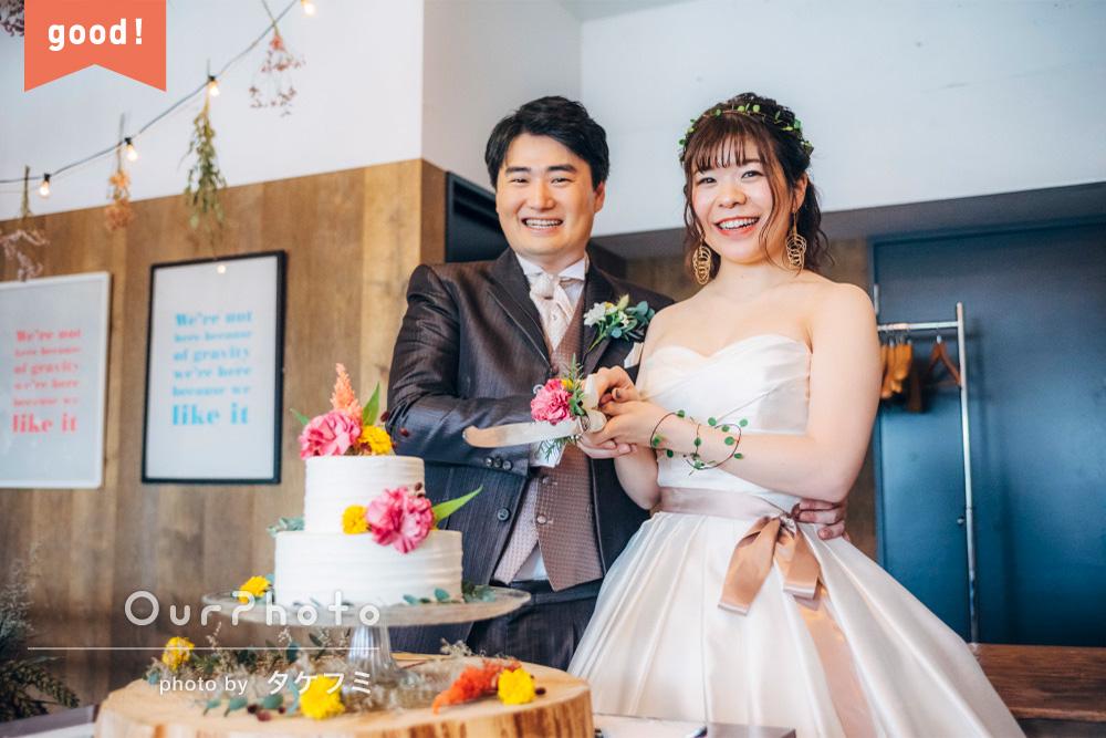 フォトギャラリー「期待を大きく上回る充実した撮影内容」アットホームな結婚式の撮影