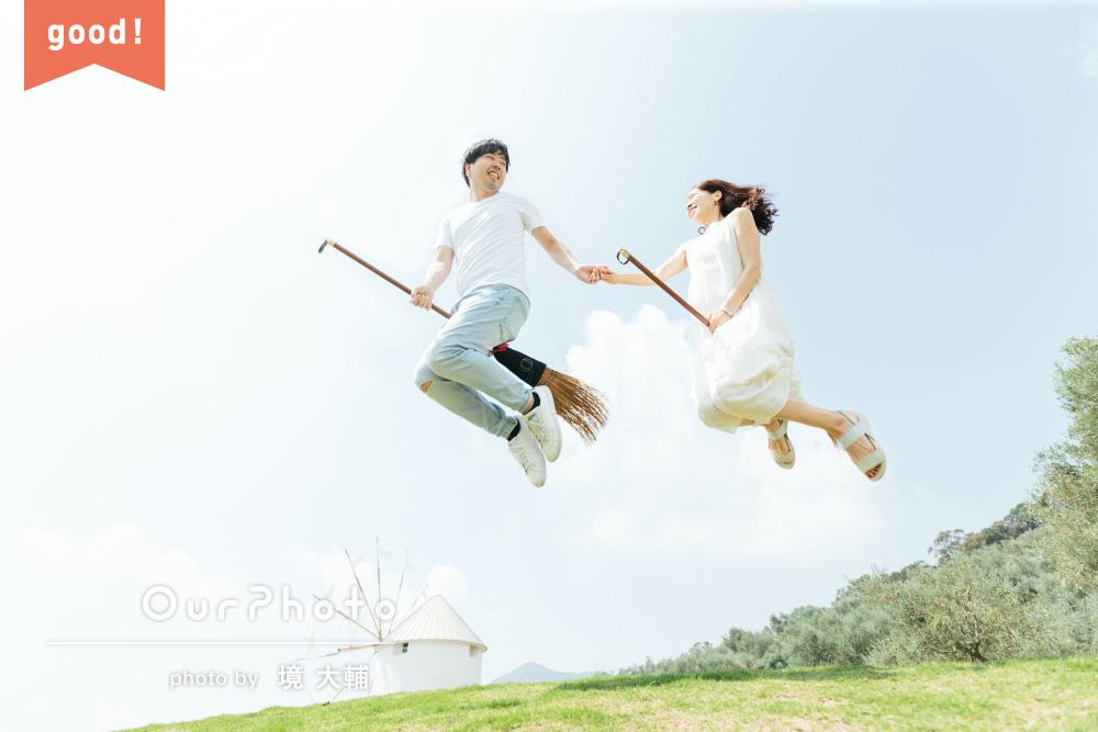 「色合いや構図もとても綺麗で感動」光と幸せに満ちたご夫婦の撮影