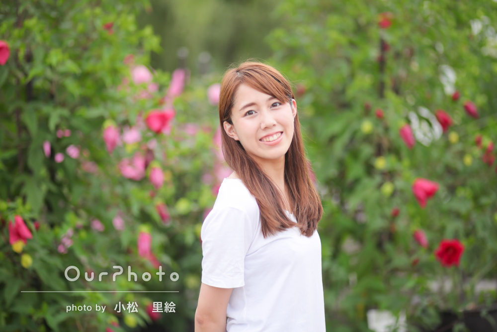 プロフィール写真の撮影例1