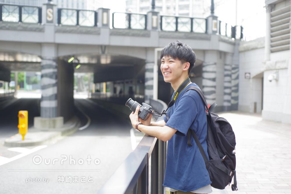 プロフィール写真の撮影例2