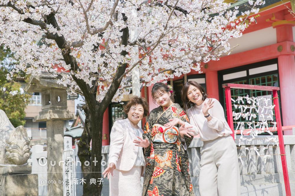 桜_成人式前撮り
