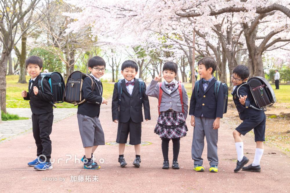 春友フォト_小学校入学の記念写真