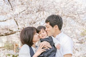 桜と一緒に写真撮影をしよう!