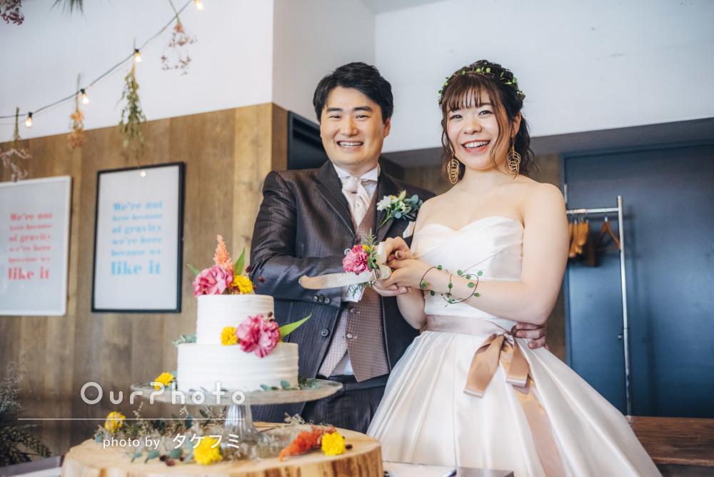 「期待を大きく上回る充実した撮影内容」アットホームな結婚式の撮影