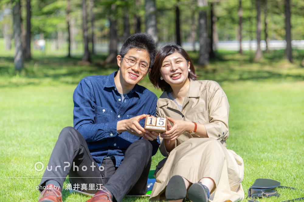 「2人にとって良い思い出に」記念日にカップル写真の撮影