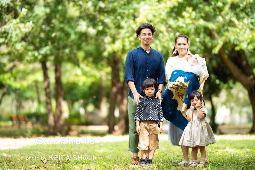 「写真越しの私たち家族がたくさんの笑顔で溢れていた」家族写真の撮影