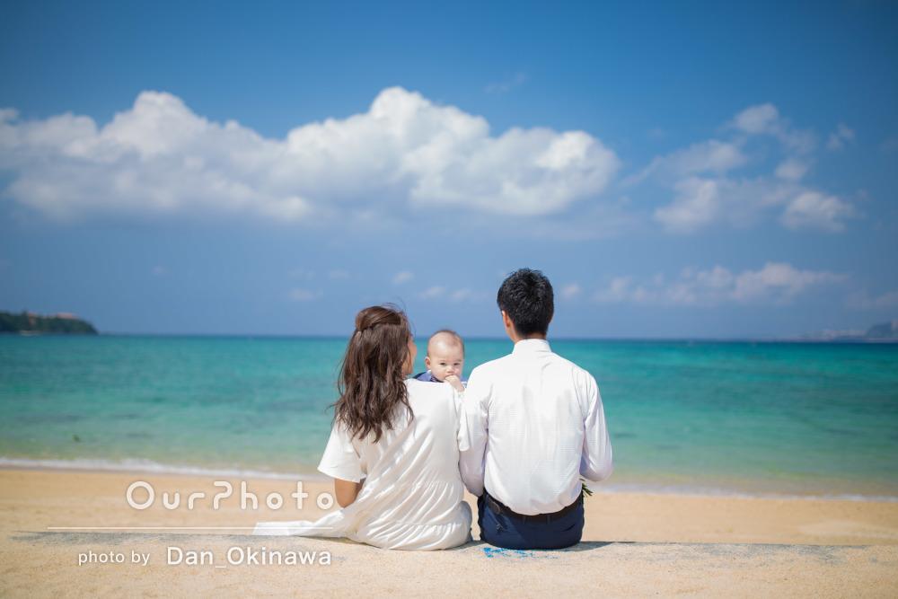 「たくさん指示していただき助かりました」幸せいっぱいの家族写真の撮影