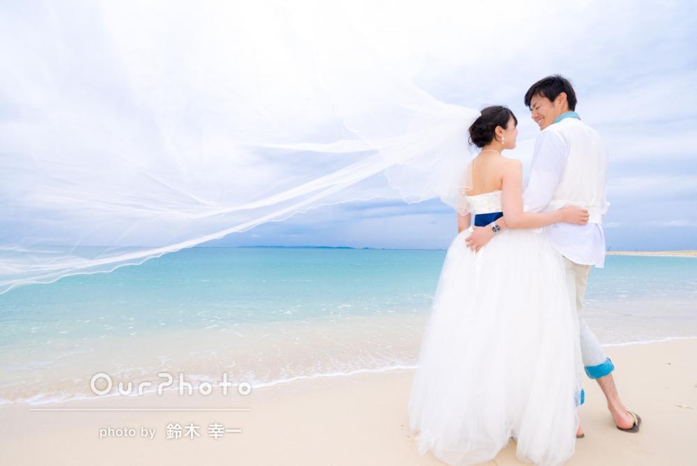 「とても楽しい思い出ができました。出来上がった写真も綺麗で大満足です。」雨が降る中、結婚記念の前撮り