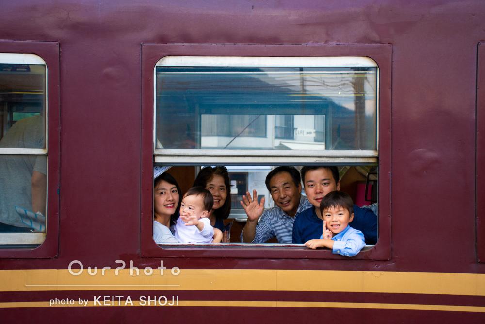「好みの写真に近づくよう希望を聞いていただきました」家族写真の撮影