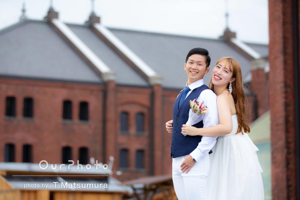 2人きりの温かい幸せな瞬間を形に残したカップル写真の撮影