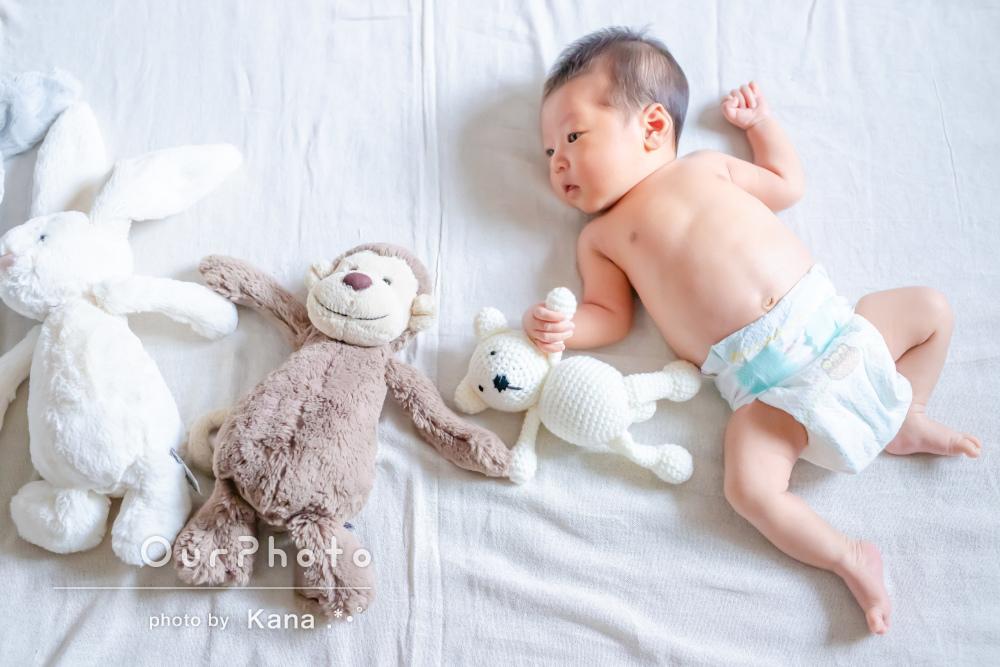 「一瞬で終わってしまう新生児の可愛い姿」ニューボーンフォトの撮影