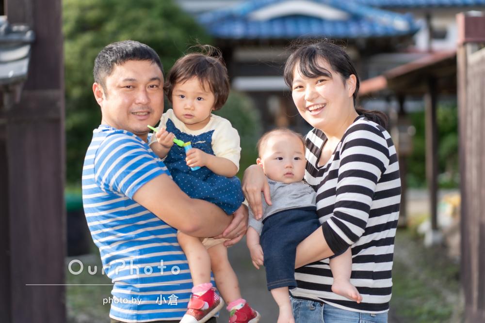家族の記録としてこの先ずっと残しておきたい!家族写真の撮影