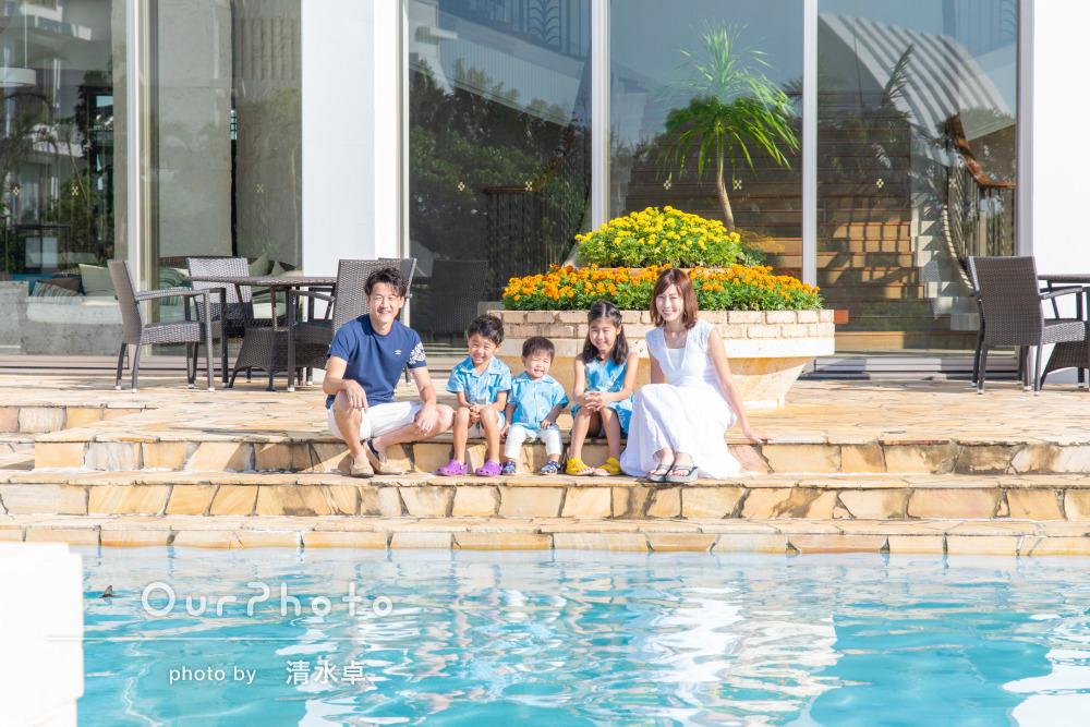 「盛り上げてくださって子供達も楽しんで撮影出来ました」家族写真の撮影