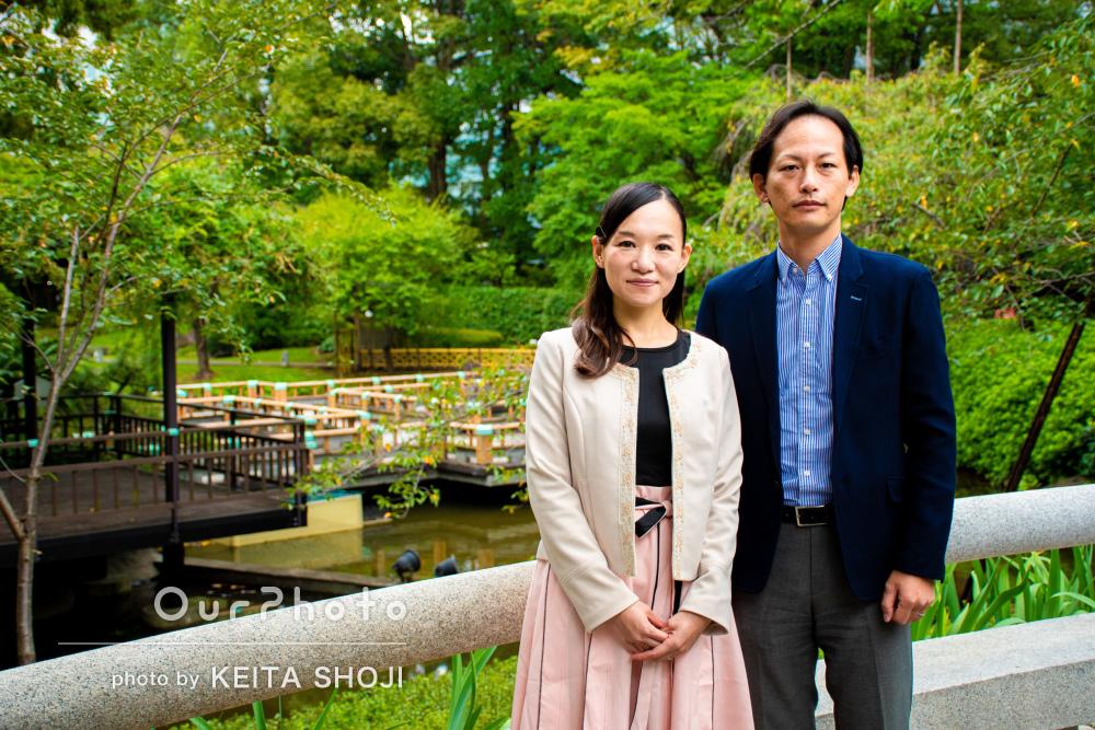 「色々なシーンで写真を撮ってもらいとても満足」夫婦で結婚記念日の撮影