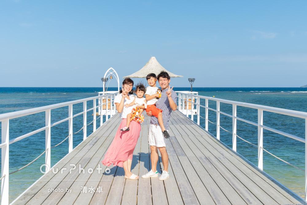 「楽しくスムーズに撮影する事ができました」家族写真の撮影