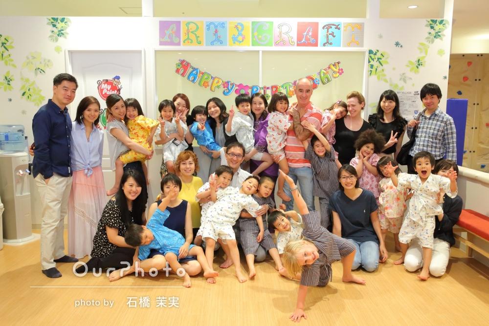 「素晴らしい写真を撮って頂けて大変感謝しております。」5歳のお誕生日記念に、盛大なお祝い会の撮影