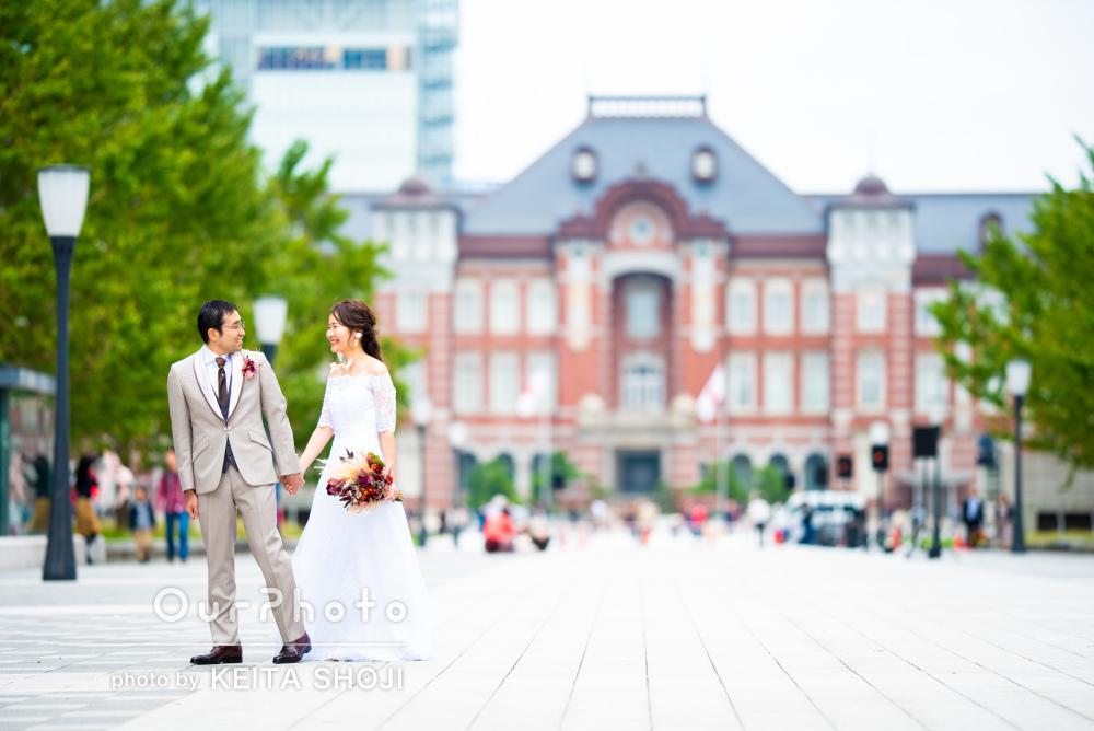 「結婚式のウェルカムボードにお願いしました」前撮りの撮影