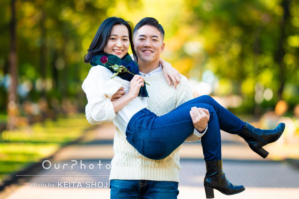 「柔らかい雰囲気で大満足」入籍記念に幸せなカップルフォトの撮影