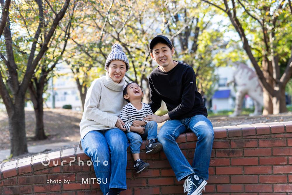 「納品いただいた写真はどれも素敵で参考になりました」家族写真撮影