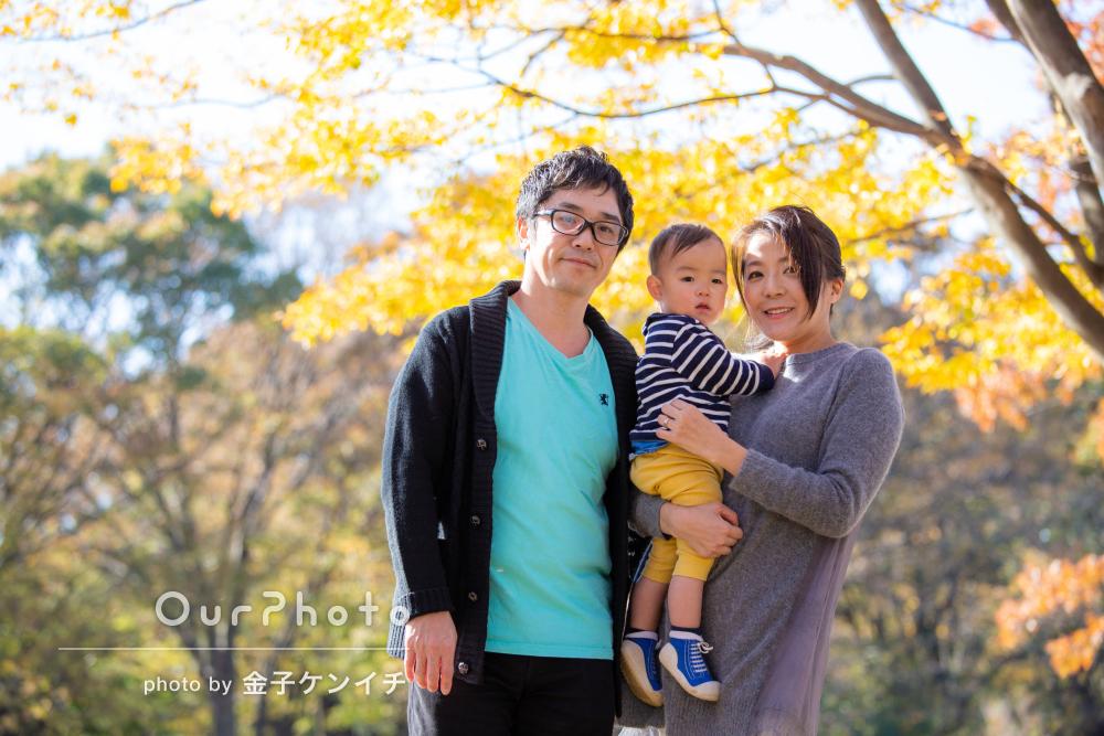 「温かみのある仕上がり」1歳半の記念にご家族の撮影