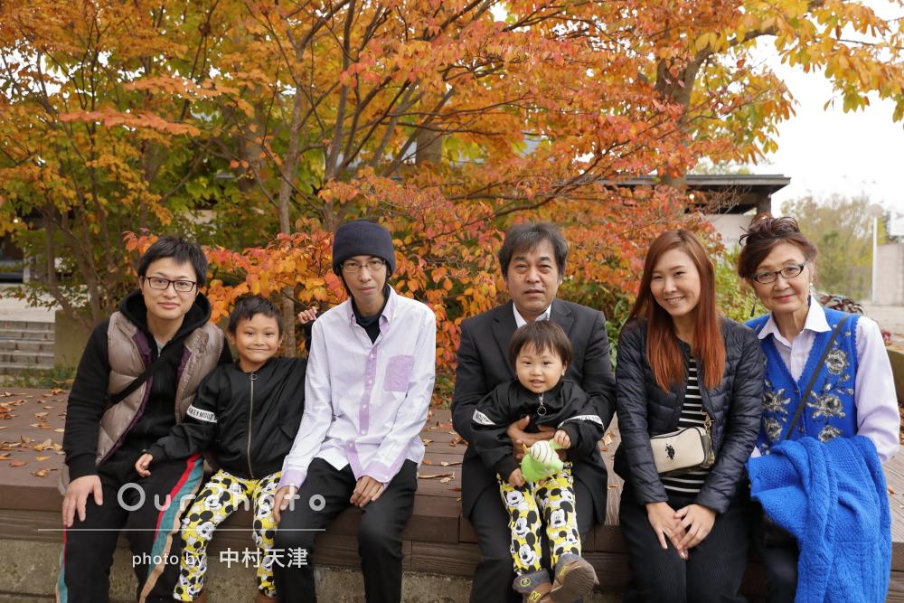 「家族一同大ファンです」信頼関係のあるフォトグラファーとご家族の撮影