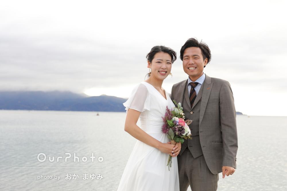 「私達らしい自然体な写真」入籍記念のカップルフォトの撮影
