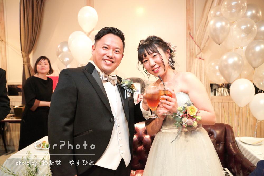 「こちらの要望をしっかり捉えてステキな写真」家族での結婚式の撮影