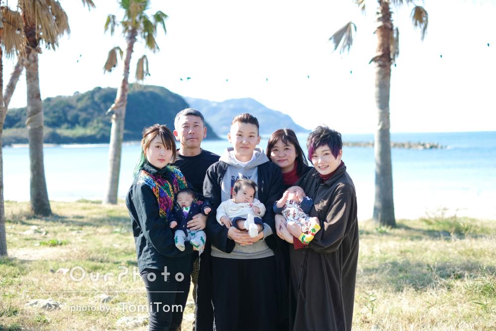 「写真を撮るたびに声をかけてくれて」赤ちゃん大集合!ご家族の撮影
