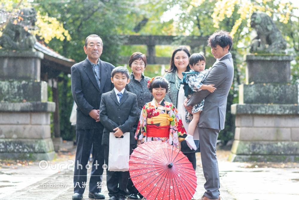 「撮影までのやりとりも、安心してお任せ」和装で家族写真の撮影