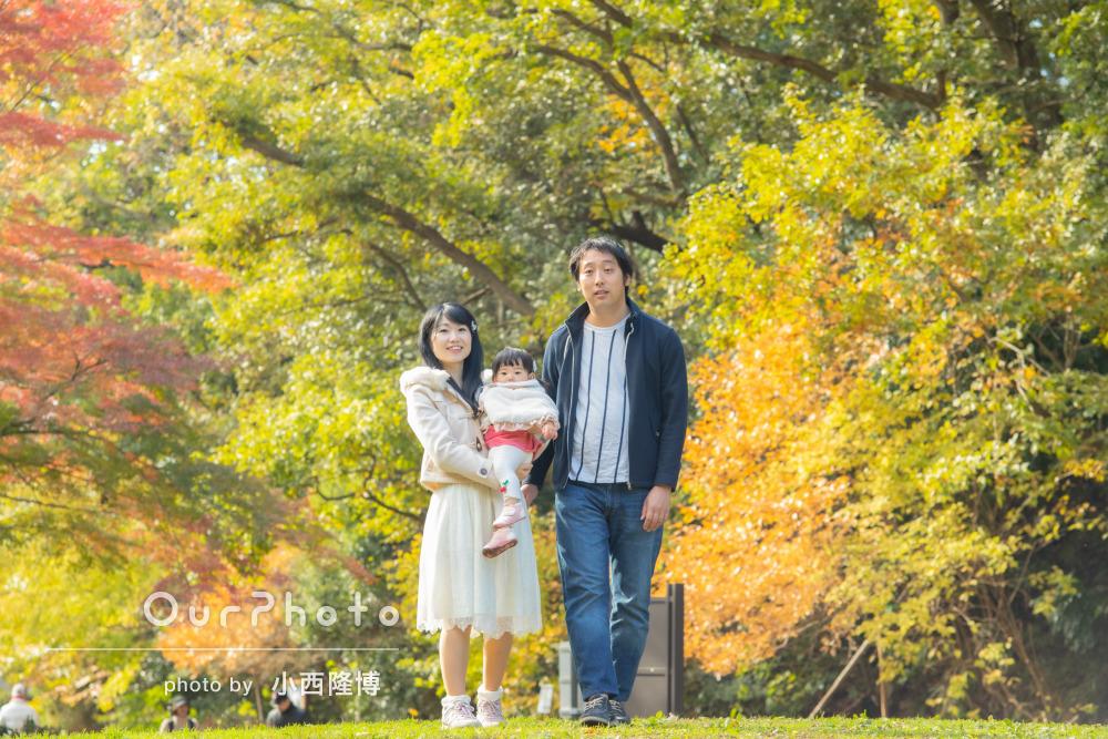 「素敵な写真ばかりでした」温かな雰囲気に包まれた幸せな家族写真の撮影