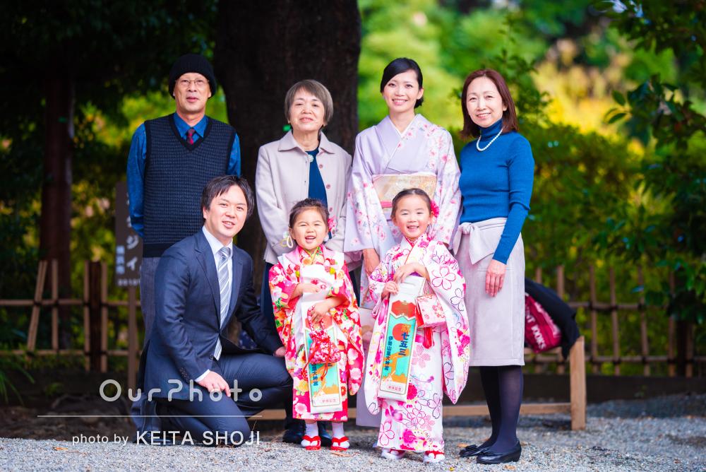 「柔らかい雰囲気の写真で家族にとって良い思い出となり」七五三の撮影