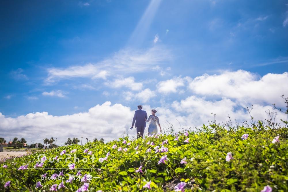 「楽しくてずっと笑っていたような気がします」新婚旅行中の沖縄で、ブライダルフォトの撮影
