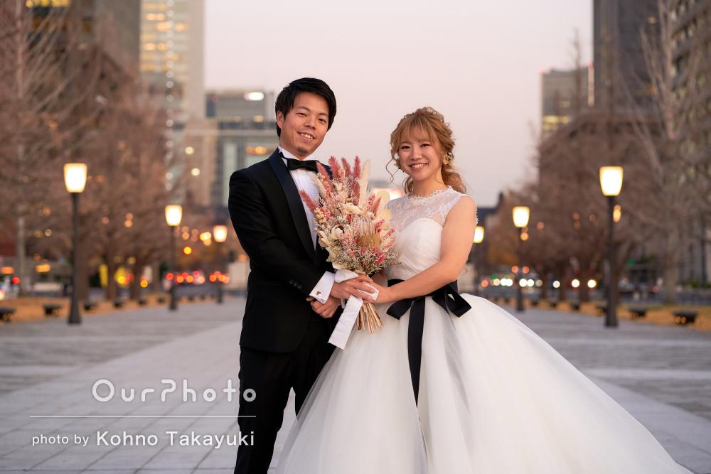すべてが美しく物語のようにロマンチックなカップルフォトの撮影
