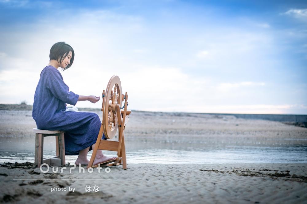 「終始和やかな雰囲気の中、撮影することができ」プロフィール写真の撮影