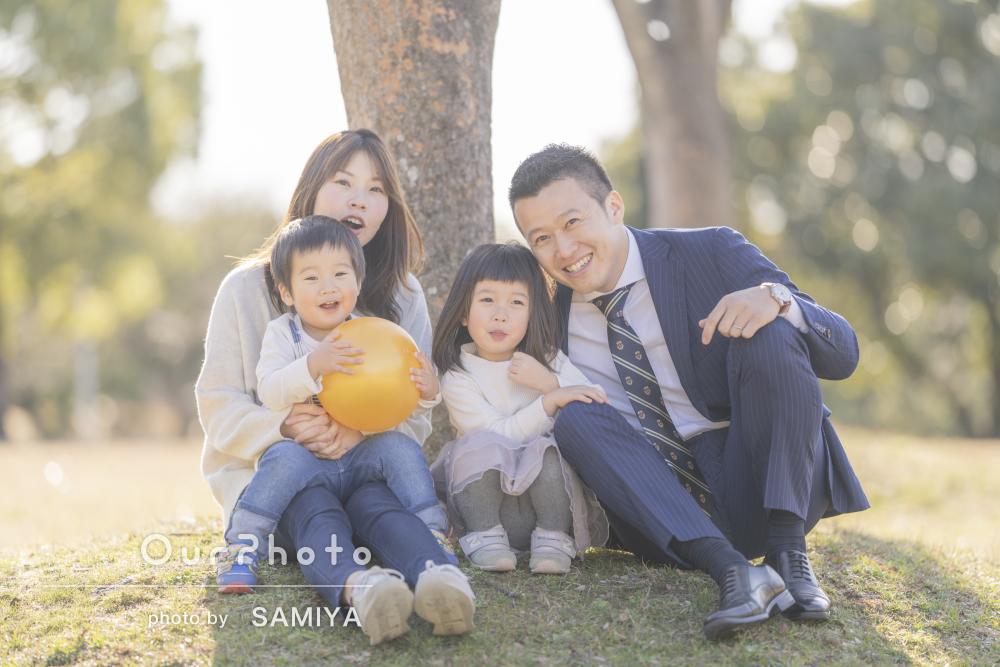 「素晴らしいショットばかり」やさしい雰囲気の家族写真の撮影