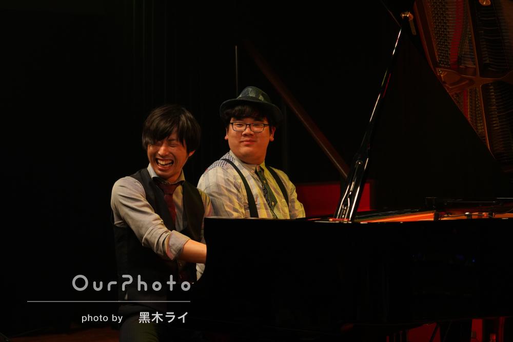 「一瞬一秒がかけがえのない空間」高揚感が伝わるピアノライブの撮影