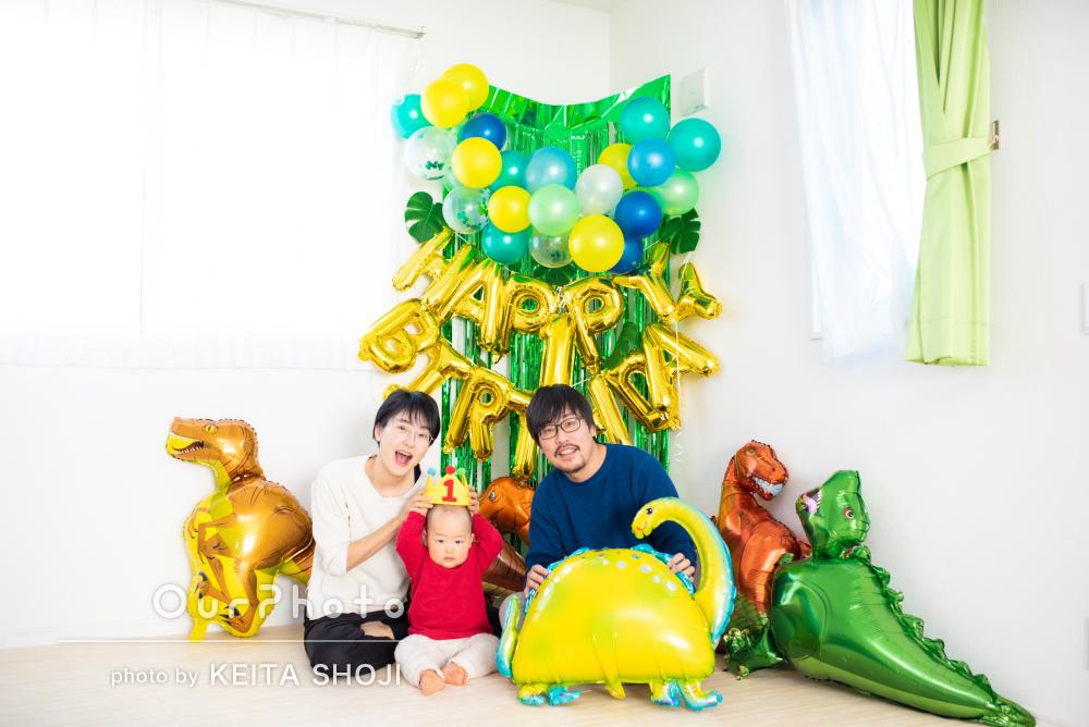 「明るく優しい人柄に助けられ」リラックスして臨めた家族写真の撮影