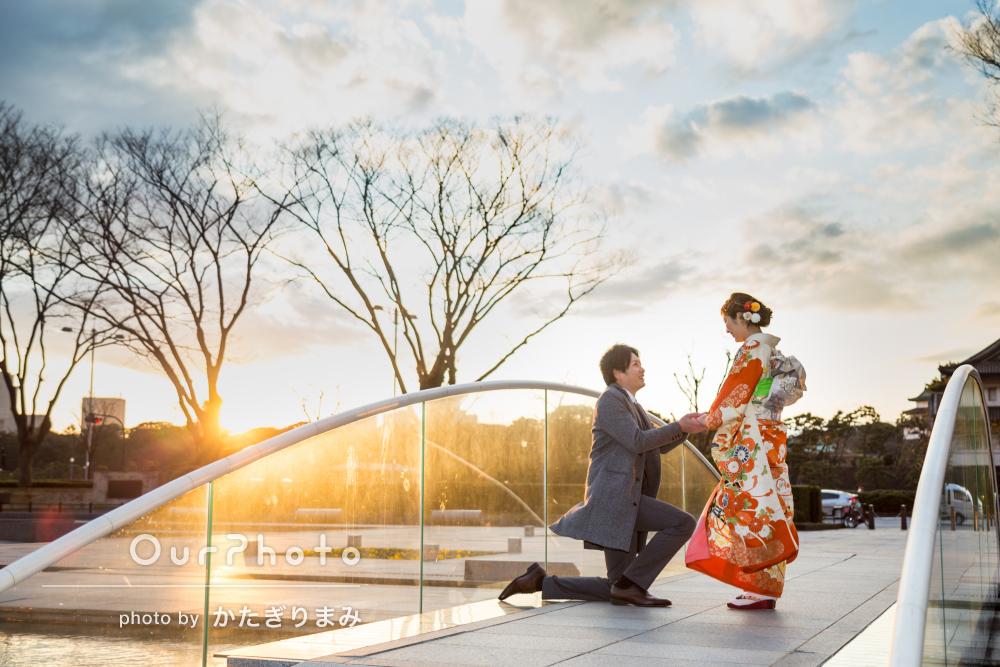 「飾らない、いつもの自分たち」結婚式に使いたいカップルフォトの撮影