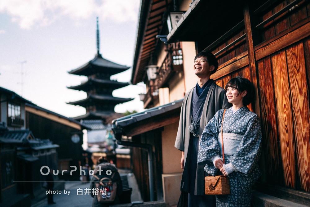 「イメージ通りの写真を撮って頂きました」京都にてカップル写真撮影