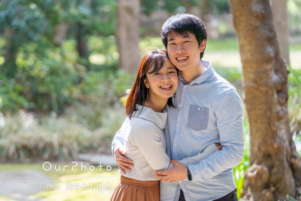「2人にあったポージングを提案くださり」ご夫婦で結婚1周年記念の撮影