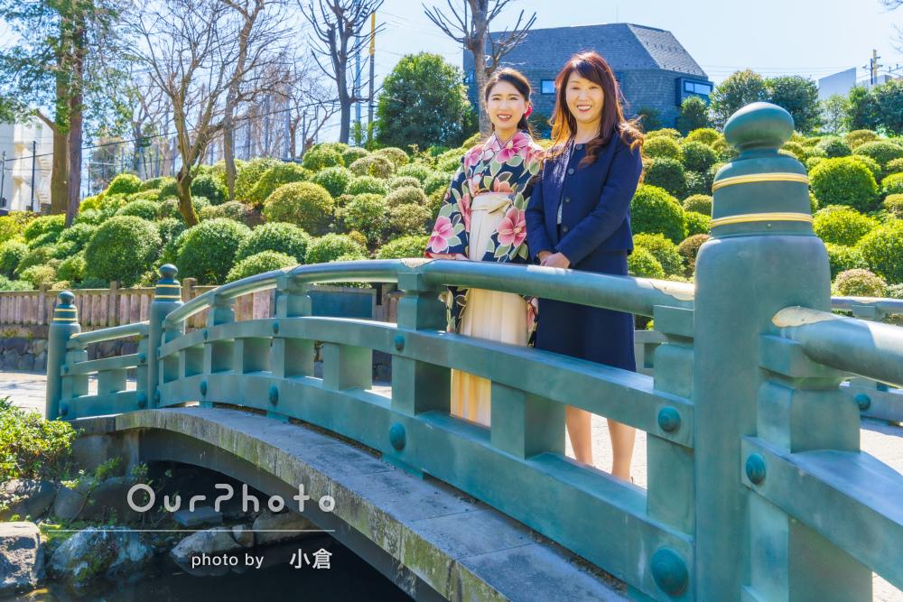 「凄く話しやすく、構図やポーズ等上手な方」家族で卒業記念写真の撮影