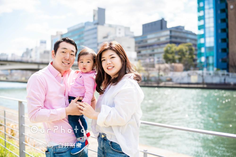 「とても綺麗に撮っていただけて大満足」家族写真の撮影