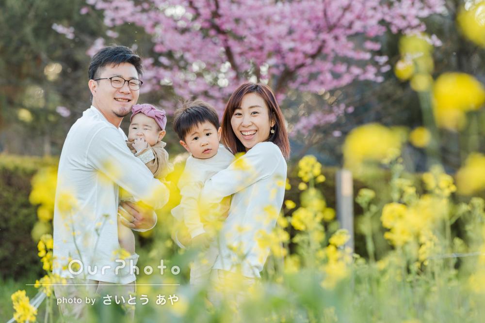 「家族の普段の姿を撮っていただき良い思い出になり」家族写真の撮影