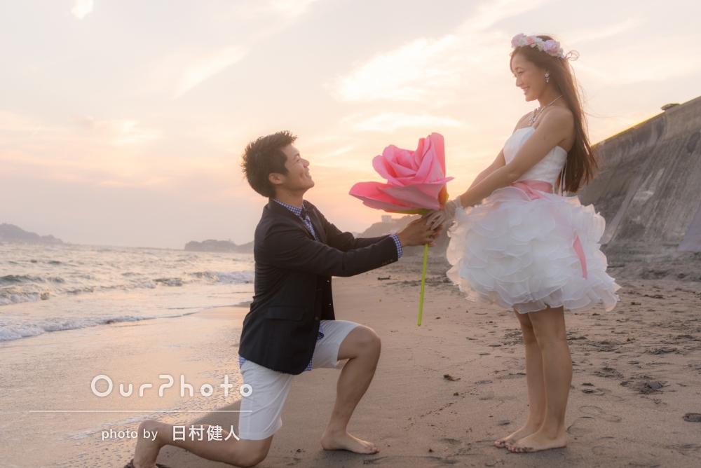 「思い出の場所で素敵な写真を撮っていただいて、更に思い出深い場所になりました!」結婚記念の写真撮影