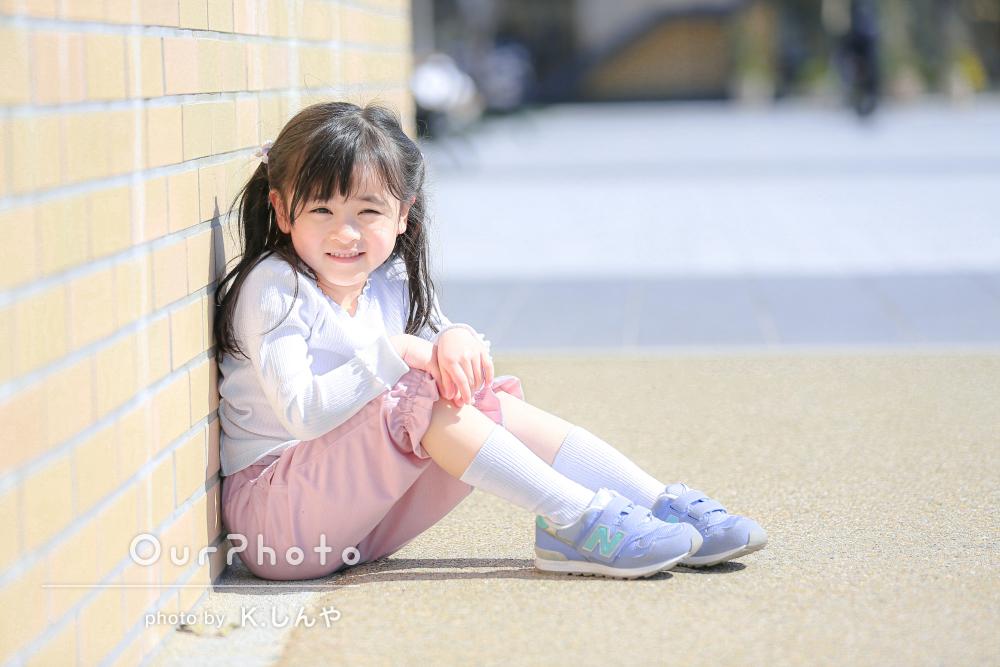 「透明感がある美しい画像で自然な笑顔がお得意」キッズ写真の撮影