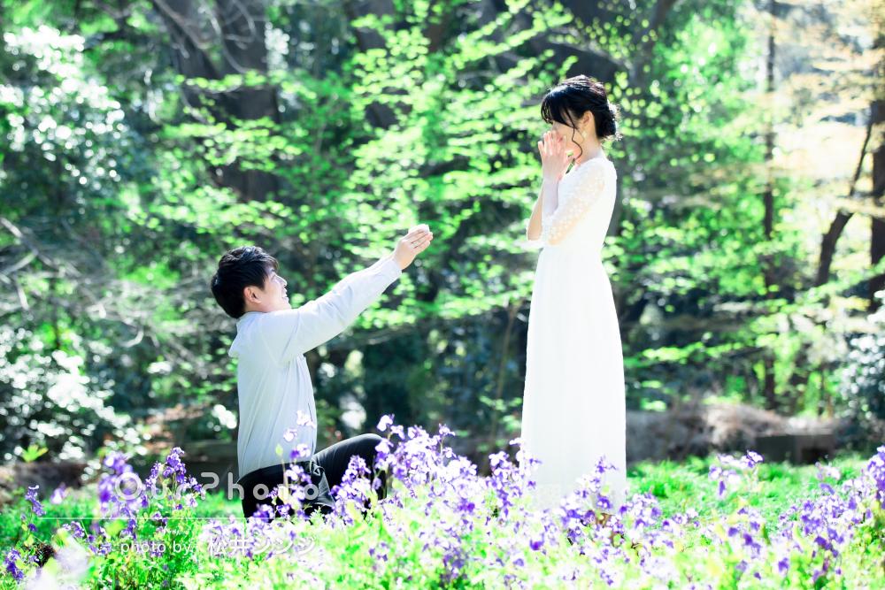 「どれも素敵で大満足です」ロマンチックなエンゲージメントフォトの撮影
